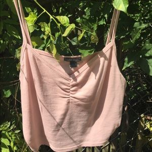 wild fable blush pink crop top size L